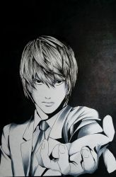 Light Yagami by Pandaroszeogon