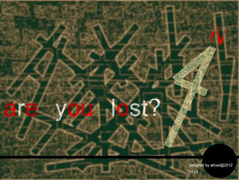 are you lost? by new9999