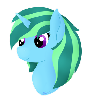 Lineless Headshot by Stormie38