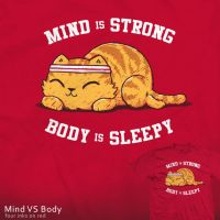 Mind VS Body - tee by InfinityWave