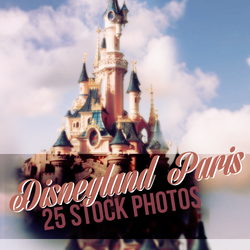 Disneyland Paris Stock Pack #1 by millioncolours92 by millioncolours92