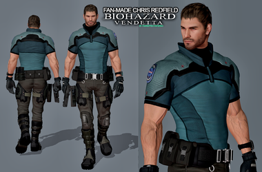 Biohazard Vendetta Chris Redfield (Fan Made) by LitoPerezito