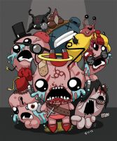 The Binding of Isaac by blckwht