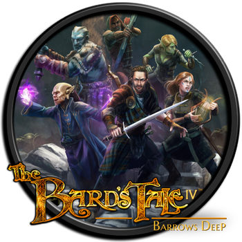 Bard's Tale 4 - Barrows Deep Game Icon by Jolu42