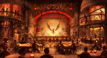 SSnPP - Steampunk Speakeasy by 47ness