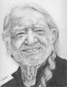 Willie Nelson by supermacito
