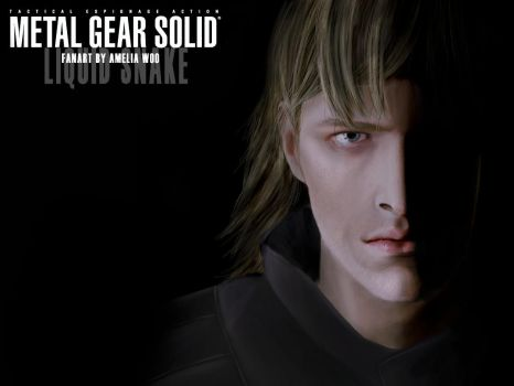 Liquid Snake Face of Darkness by CrazyDwarf