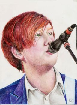 Alex Trimble-Two Door Cinema Club by AliceLim