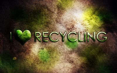 I heart Recycling by fartoolate