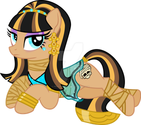 Cleo De Nile Ponified by PrinceOfRage