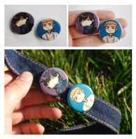 Sherlock Buttons by Avender