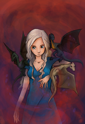 Mother of Dragons by Sugarseme