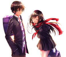 [Render] Shintaro x Ayano by eazl1999
