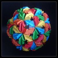 Chrysanthemum Buckyball by lonely--soldier