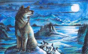 Wolves by mlappas