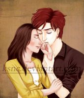 Bella and Edward - final by KSNC