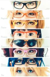Persona 4, Glasses by fritzfusion