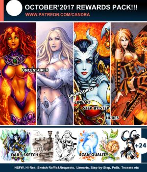 Patreon October Rewards by Candra