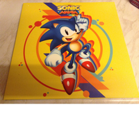 Sonic Mania LP Vinyl Limited Splatter Thing by DazzyADeviant