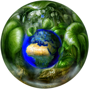 Commission: Jade Earth by Vladinakova