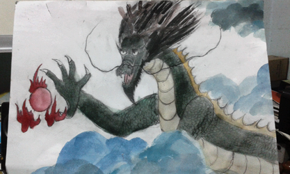 Chinese Dragon by Old-Sage