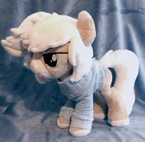 Clear Crystalline Plush :Commission: by AppleDew