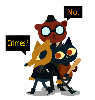 Night In The Woods by AnimatorRader