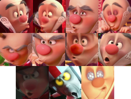 The King Candy/Turbo lip appreciation thing! by KrakenGuard