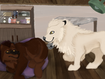 Weekly Quest - Recovery visit by magikwolf