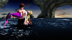 [MMD] In Your Arms: Rescue At Sea by Emo-Flowers
