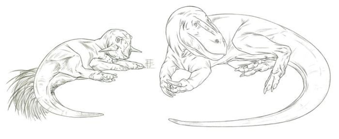 Dino Sketches_Relaxosaurs by Smnt2000
