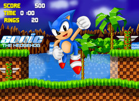 Sonic The Hedgehog 1991 HD by TokeiTime