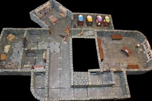 Pathfinder Foxglove manor to Lost End basement by MrVergee