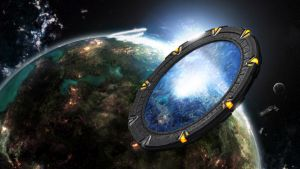 Stargate in Space by dj-corny