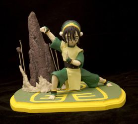 Toph Beifong maquette by Ariel523