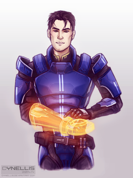 Mass Effect: Sexy Major by cynellis