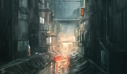 Concrete Jungle Ahead by TomTC