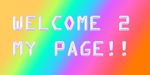 Welcome Thingy by mlpfanmakerandnextge