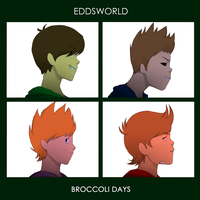 Eddsworld and Gorillaz crossover ?? by Zetahe