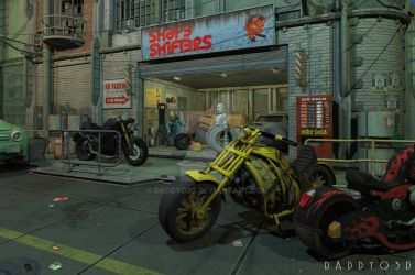 Shape Shifters Garage by Daddyo3d