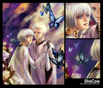 Butterfly Dance - Dio+Lucciola by SheCow
