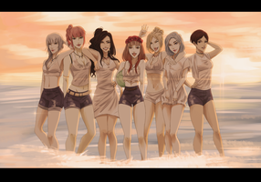 [S.O.S] M4 SUMMER PARTY by kinboiki