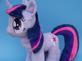 Twilight Sparkle Plushie by eebharas