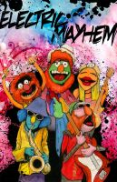 Dr. Teeth and the Electric Mayhem by JarOfComics