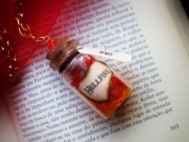 Final Fantasy Summon Pendant - Ifrit Necklace by MySoulShards