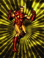 IronMan by Bill and Pixeltease by billmeiggs