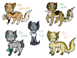 VoH | Character Adopts [CLOSED] by XWintersBladeX