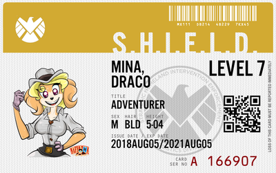 Shield agent Mina Draco by connorm1