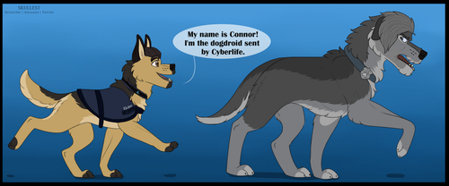 My name is Connor! by BLOOD-MVTT
