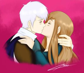 The Swan Kiss - PruHun by LoveToTheCucumber